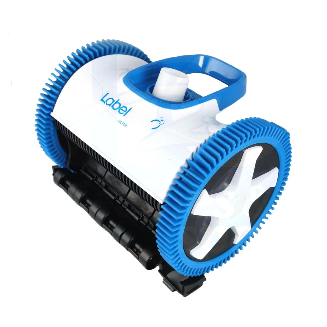 balai victor p 2 roues pour piscine liner polyester et peinture