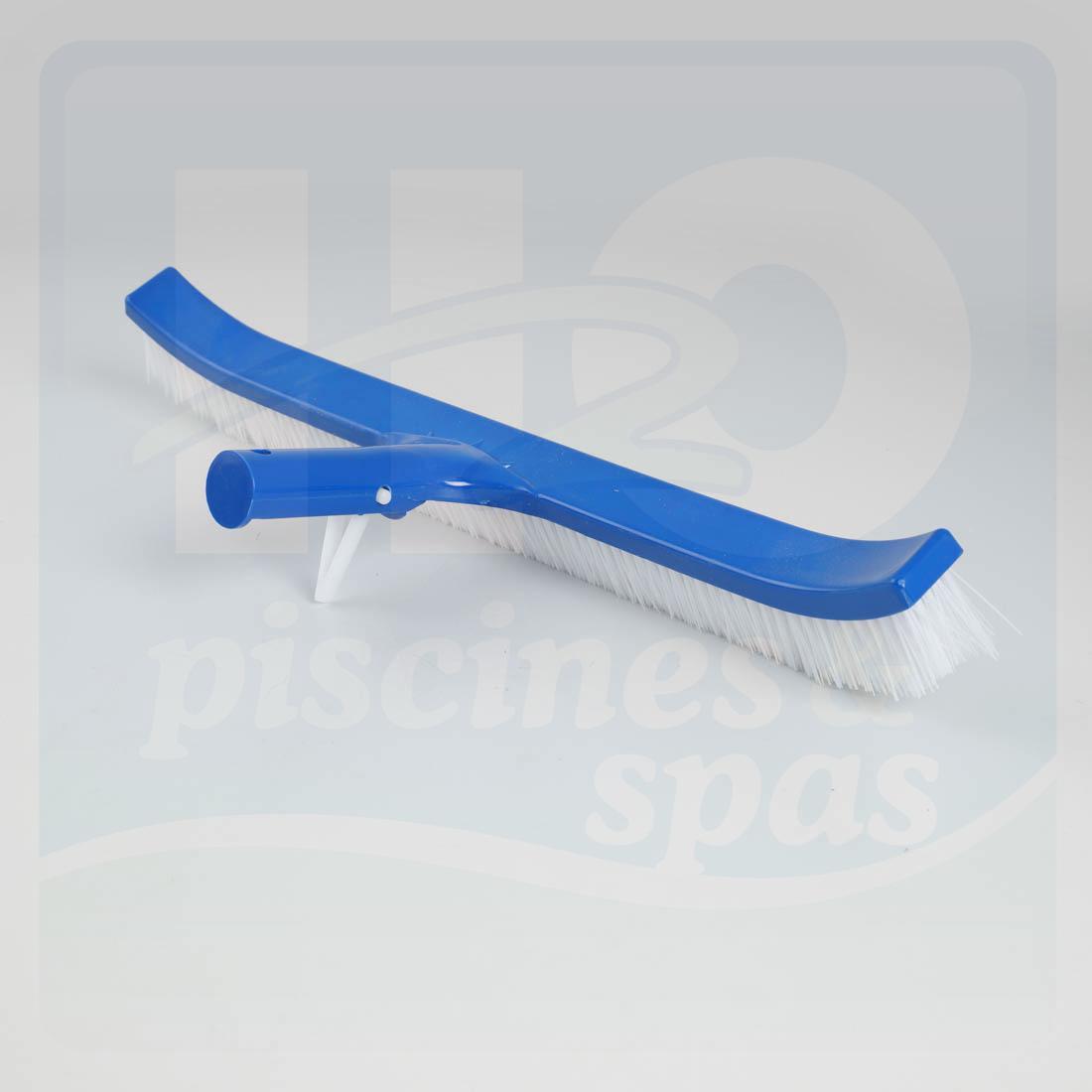Brosse de paroi de 45 cm avec poils en nylon embout for Piscine en plastique