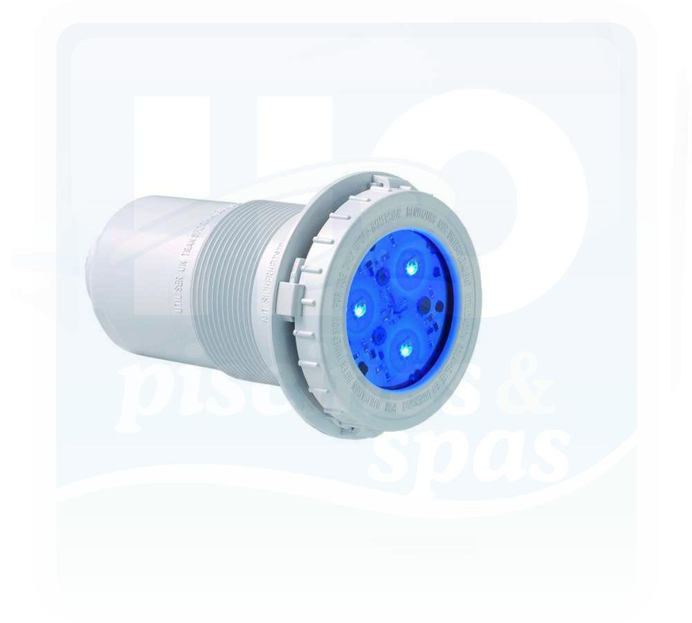 Mini projecteur de piscine hayward led rgb bton h2o for Projecteur piscine