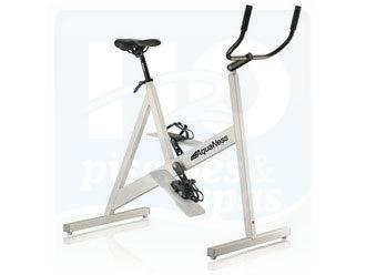 Vélo de piscine AQUANESS avec selle large (confort) et ventouses.
