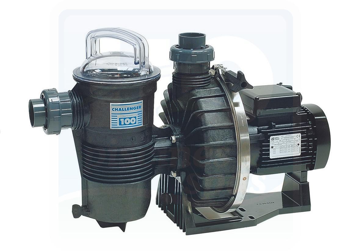 Pompe pentair challenger 2 cv monophas 25m3 h h2o for Pompe a chaleur piscine 25m3