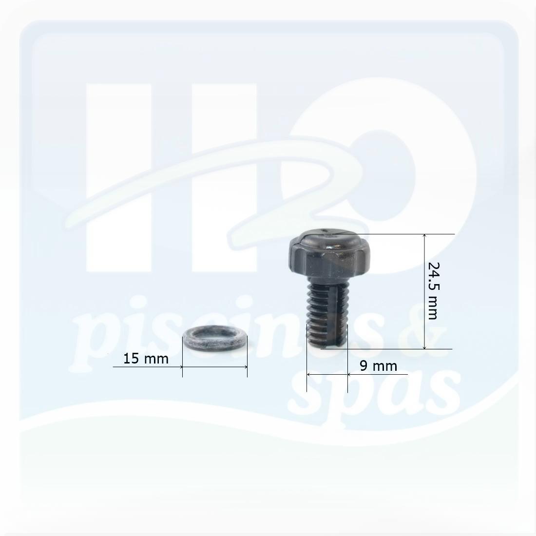 valve d 39 air vis de vidange de filtre hayward c250 c 750 h2o piscines spas. Black Bedroom Furniture Sets. Home Design Ideas