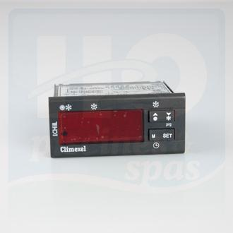 H2o piscines spas pices dtaches pompes chaleur for Thermostat piscine