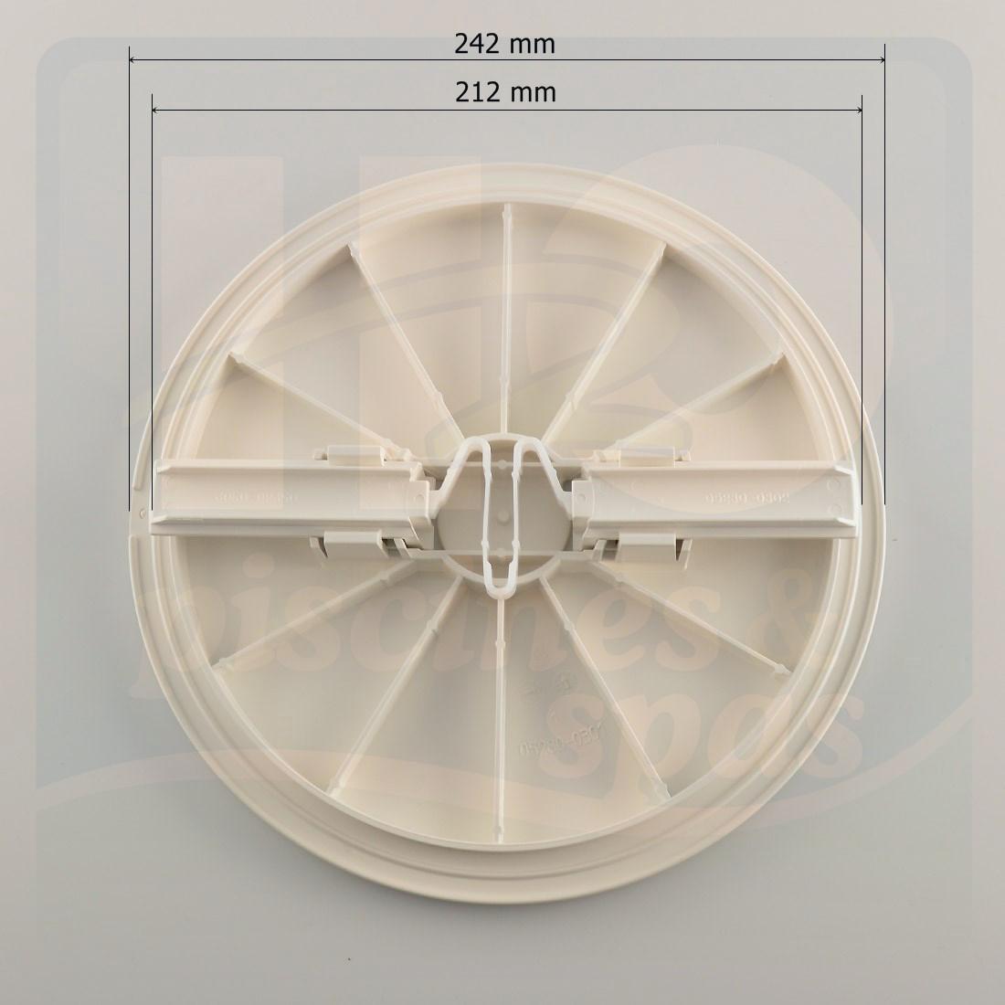 Couvercle Rond De Skimmer Astral Pour Piscine Béton H2o Piscines Spas