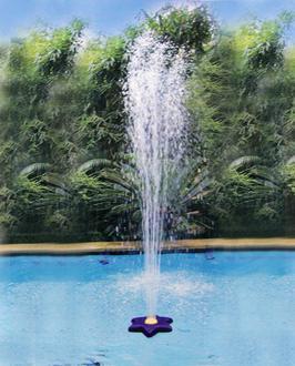 fontaine fleur pour piscine hors sol ou enterr es y. Black Bedroom Furniture Sets. Home Design Ideas