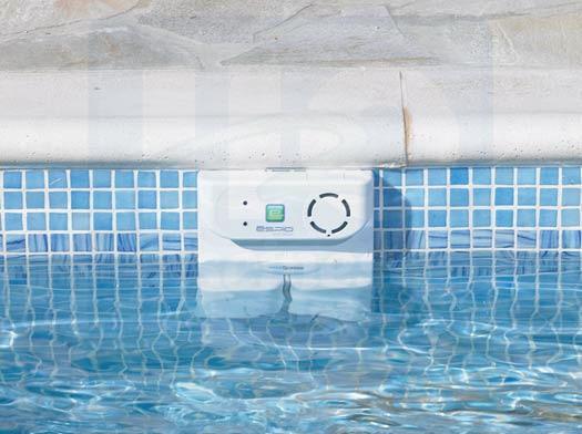 Alarme semi immerge sensor espio h2o piscines spas for Alarme piscine espio