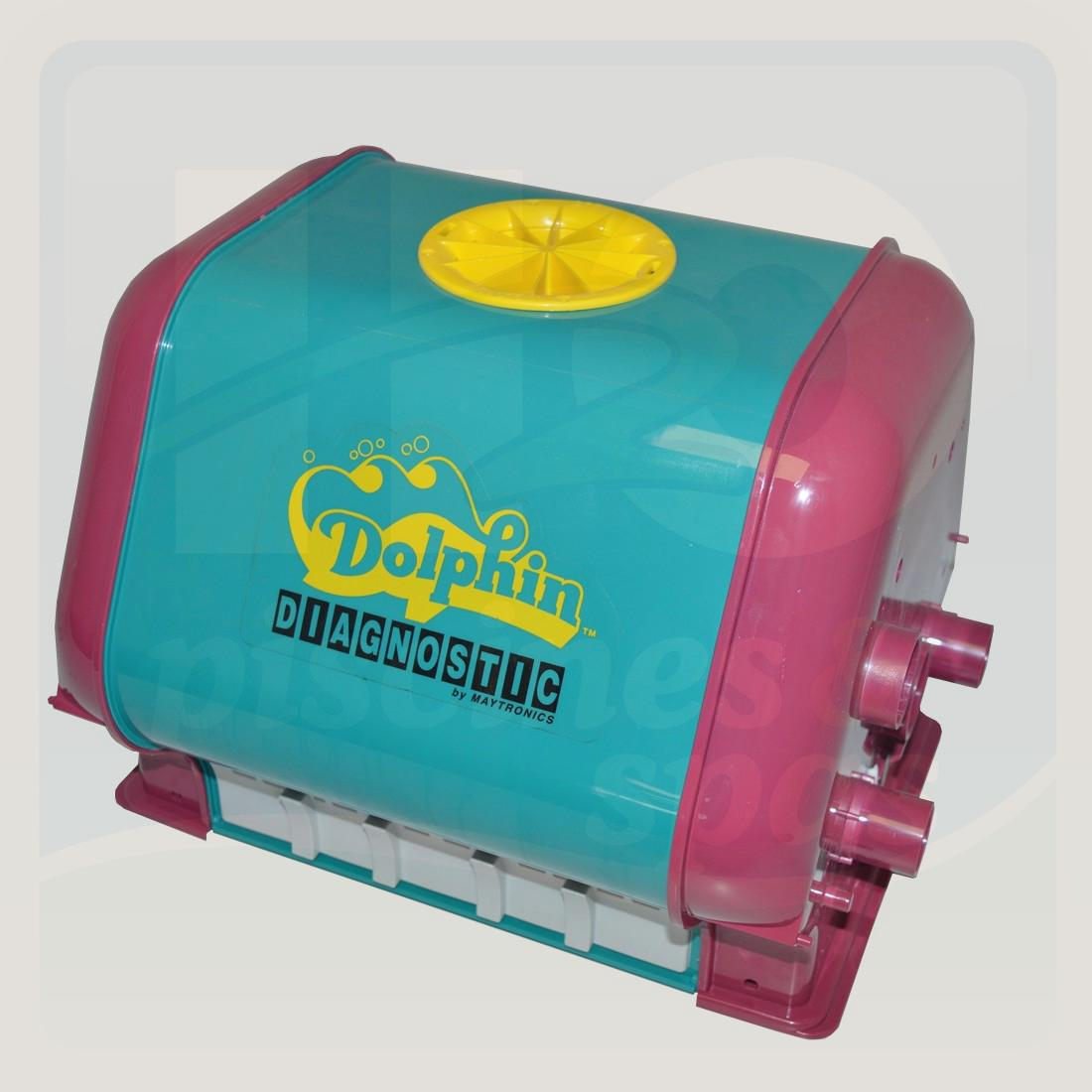 Coque de robot dolphin diagnostic 2001 h2o piscines spas for Robot piscine dolphin 2001