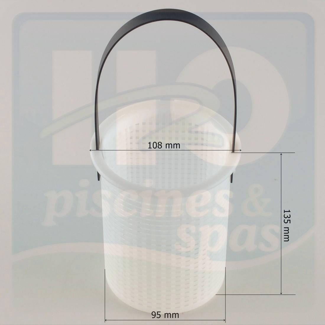 Panier de pr filtre de pompe astral sena h2o piscines for Panier piscine filtre