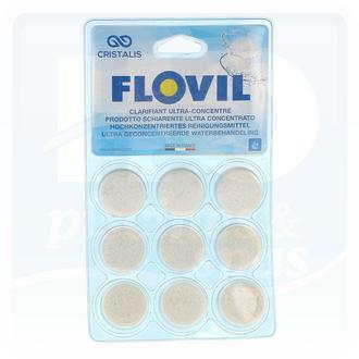 Floculant FLOVIL en pastilles ultra concentré pour filtres à cartouches et à diatomées