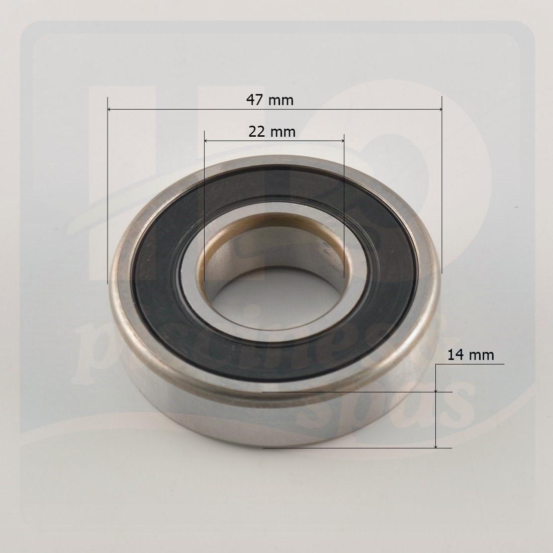 roulement billes 6204 pour pompe de piscine h2o piscines spas. Black Bedroom Furniture Sets. Home Design Ideas