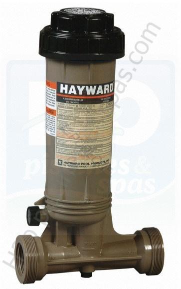 chlorinateur hayward cl0100 montage en ligne pour piscine de 95 m3 maximum h2o piscines spas. Black Bedroom Furniture Sets. Home Design Ideas