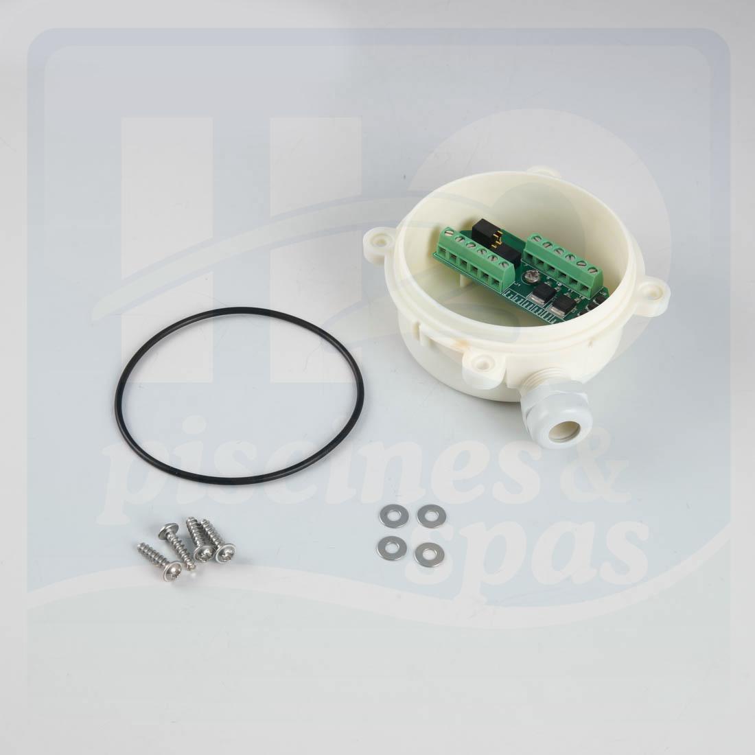 Kit bote relais ronde de robot zodiac cybernaut for Robot pour piscine ronde