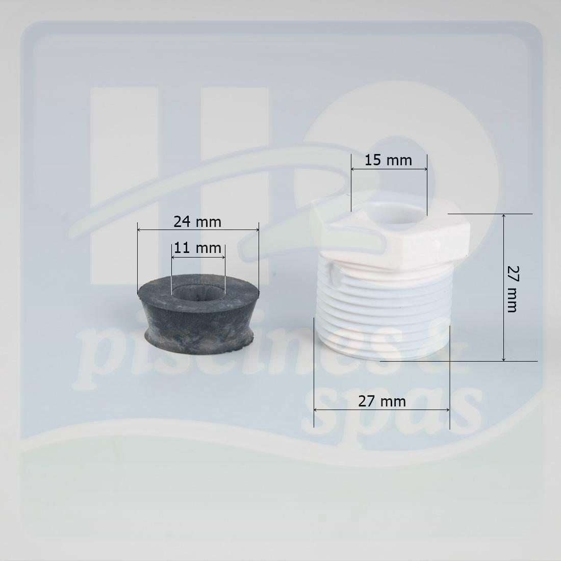 Presse toupe pour projecteur weltico nouveau modle h2o for Presse etoupe projecteur piscine