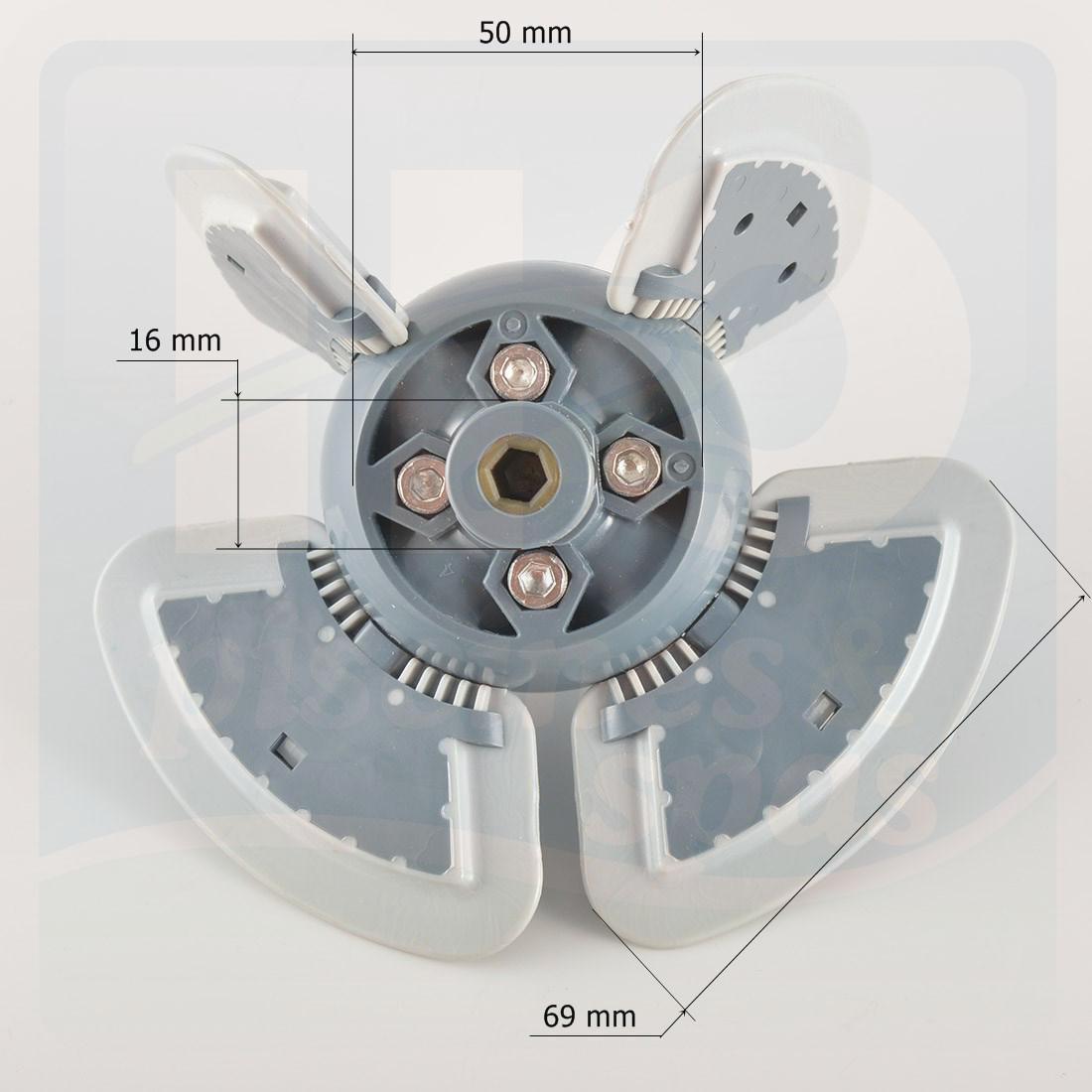Assemblage moteur de robot de piscine zodiac mx8 h2o for Piscine zodiac occasion