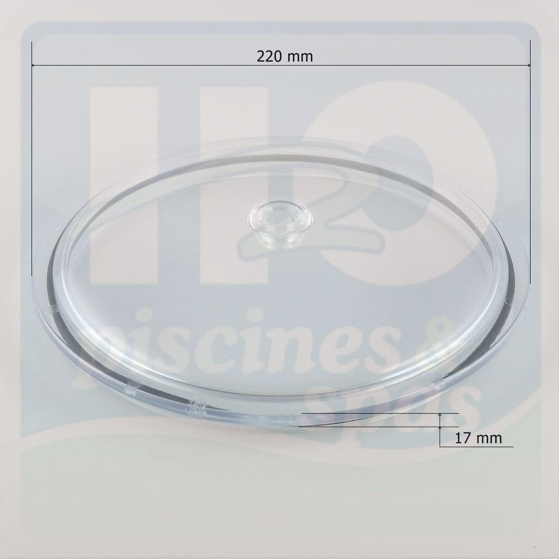 Couvercle transparent d220 et son joint de filtre astral for Joint filtre a sable piscine