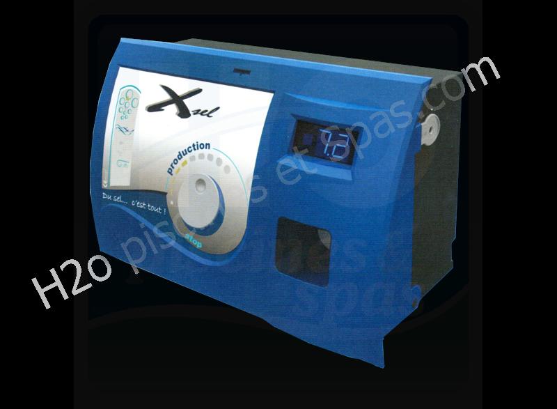 electrolyseur au sel regul xsel50 pour piscine jusqu 50 m3 h2o piscines spas. Black Bedroom Furniture Sets. Home Design Ideas