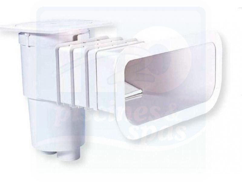 Skimmer aqualux vitalia design grande meurtrire for Skimmer piscine design
