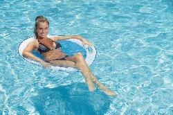 Jeux pour piscine, Aquagym, Fitness - Chaise spring float Papasan ( KERLIS )