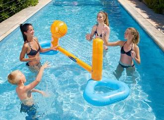 Jeux pour piscine, Aquagym, Fitness - Cage de volley-ball ( KERLIS )