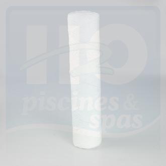 Cartouche filtrante run 9 3 4 bobine 25 pour adoucisseur for Cartouche filtrante piscine