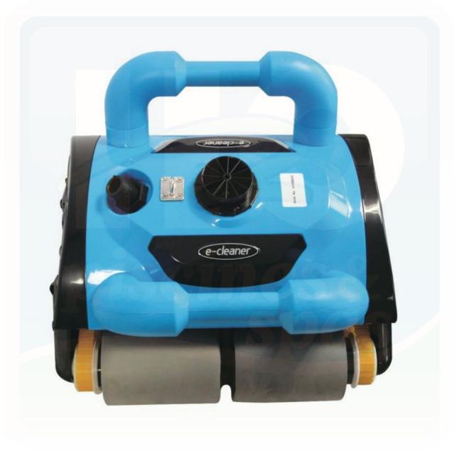 robot e cleaner fond parois et ligne d 39 eau cycles de 30 min 1 h ou 2 h h2o piscines spas. Black Bedroom Furniture Sets. Home Design Ideas