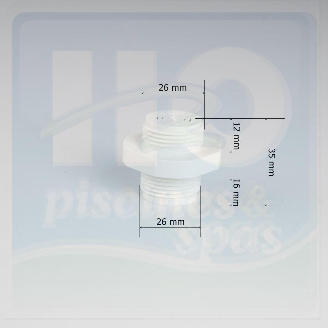 Grille de vidange du filtre sable aqualux apollo h2o for Bouchon de vidange filtre a sable piscine