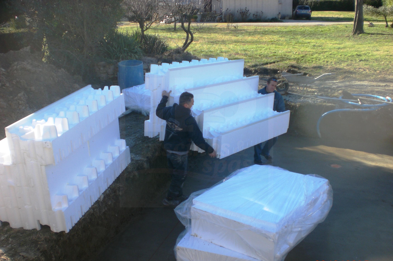 kit modulo pour piscine de 10 5 m tres h2o piscines spas. Black Bedroom Furniture Sets. Home Design Ideas