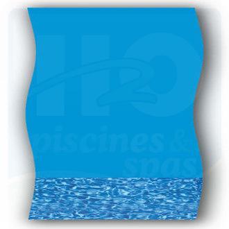 H2o piscines spas piscine liner rond for Liner pour piscine ronde