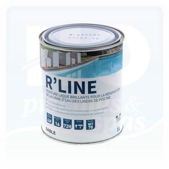 Peinture pour ligne d'eau revêtement liner - R'line sable - 1 Litre