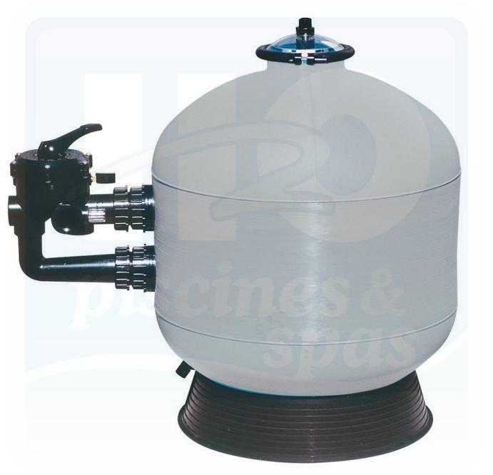 Filtre naja side 1 1 2 14m3 h h2o piscines spas for Silice filtration piscine