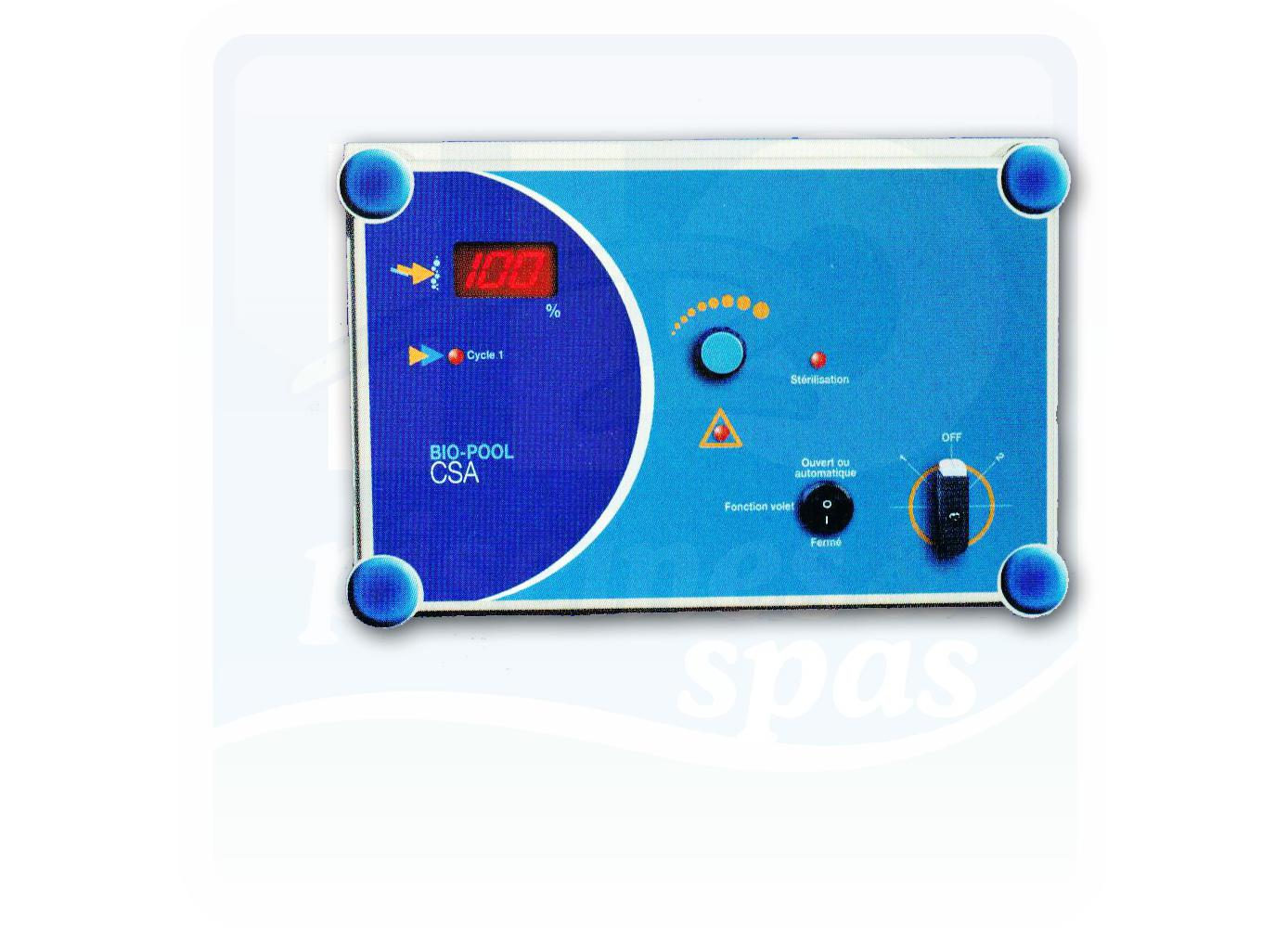 Electrolyseur au sel biopool duo 120 ph 6 inversion de for Ph piscine au sel