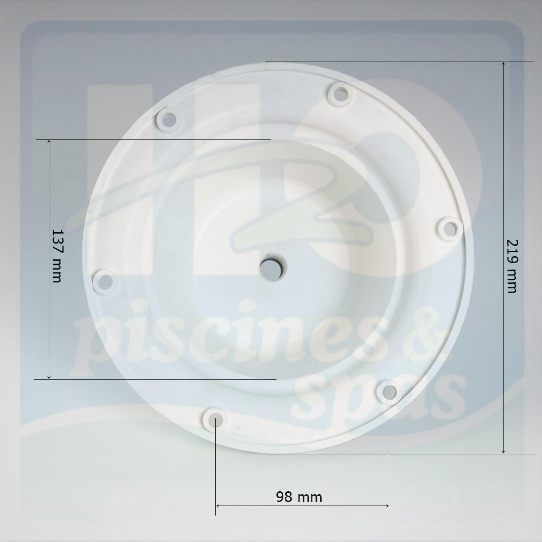 Corps de lampe et presse toupe de projecteur snte h2o for Presse etoupe projecteur piscine