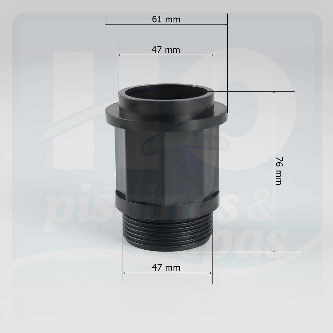 Kit de liaison pour filtre lacron 18 24 30 a h2o for Kit filtre piscine