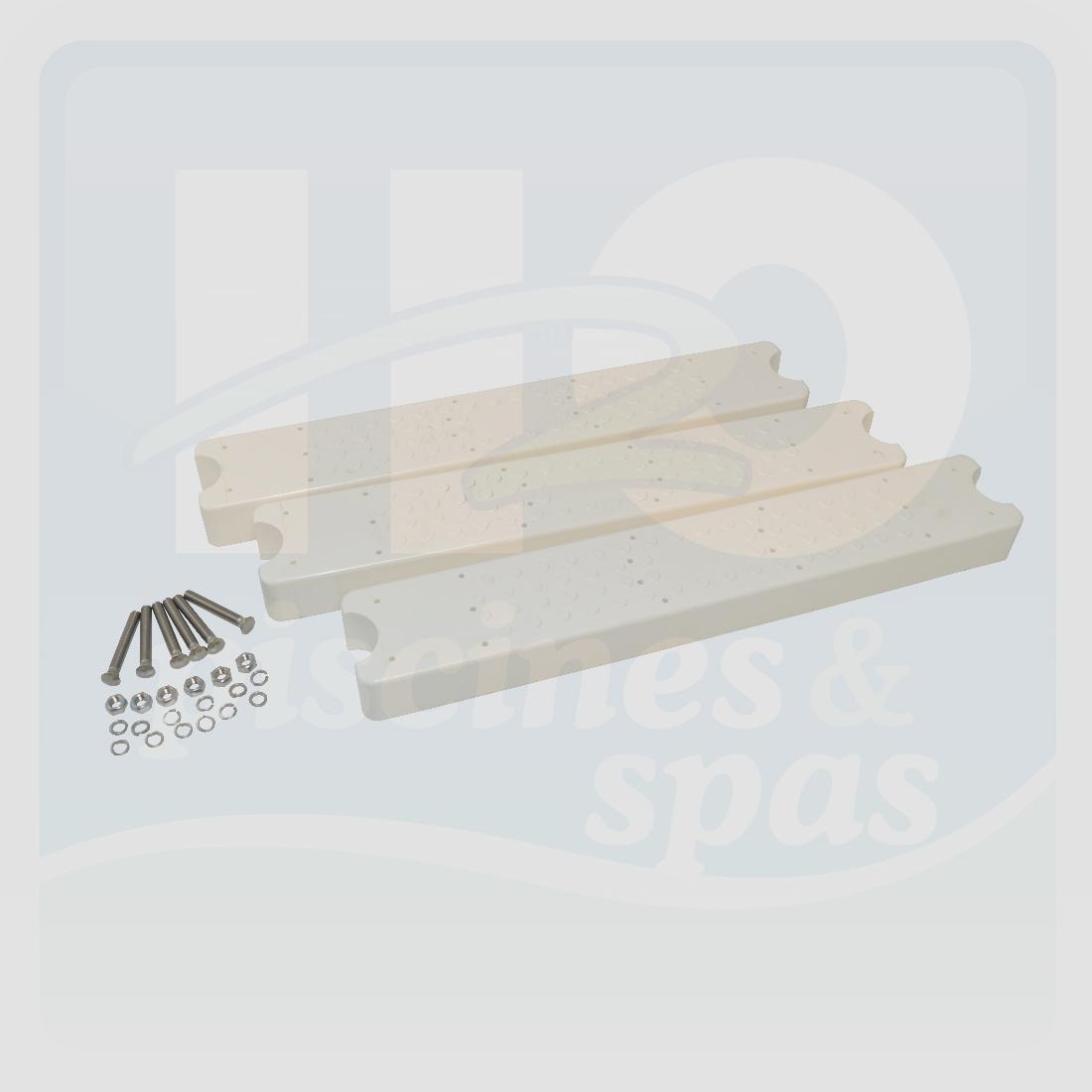 marche d 39 chelle aquamatic blanche 80 d40dc par 3 h2o. Black Bedroom Furniture Sets. Home Design Ideas