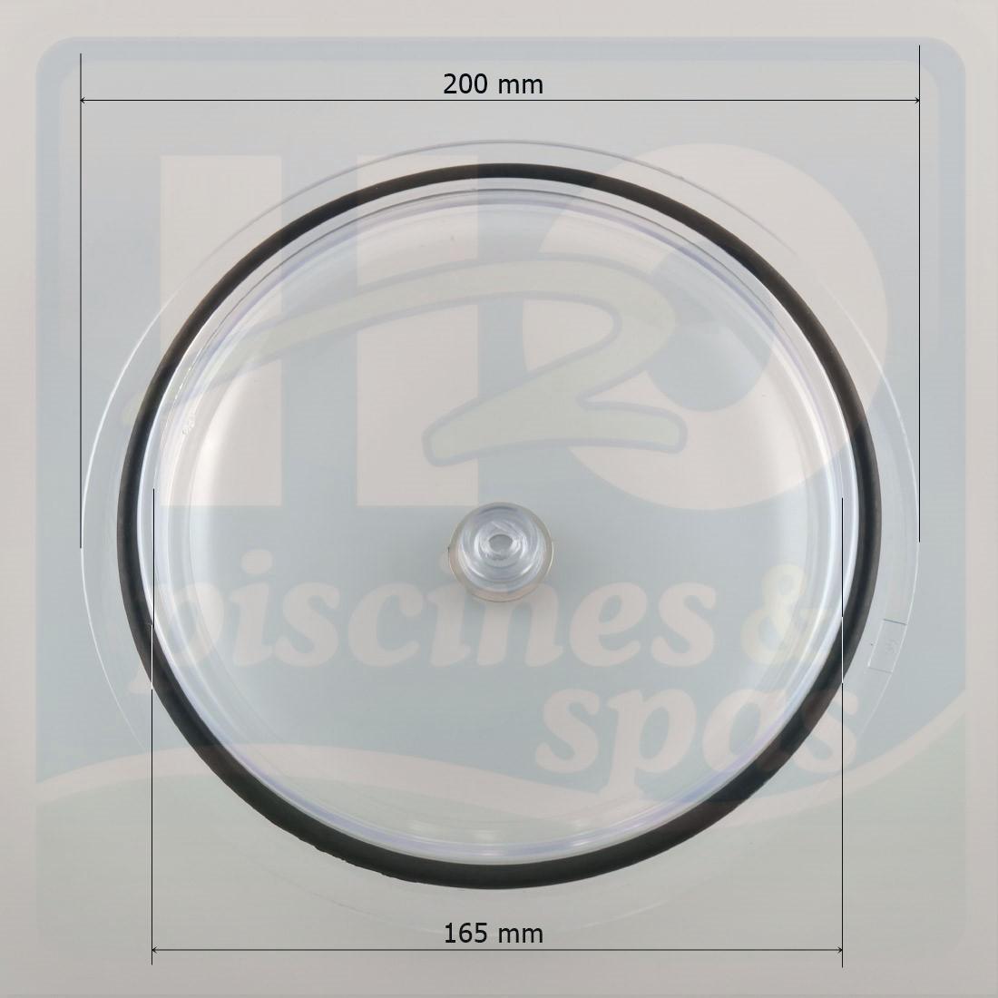 Couvercle transparent et son joint du filtre sable astral for Joint filtre a sable piscine