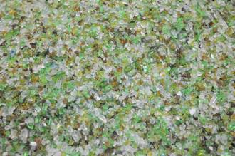 Verre recycl� piscine en sac de 25 kg - granolom�trie 0.5 - 1 mm