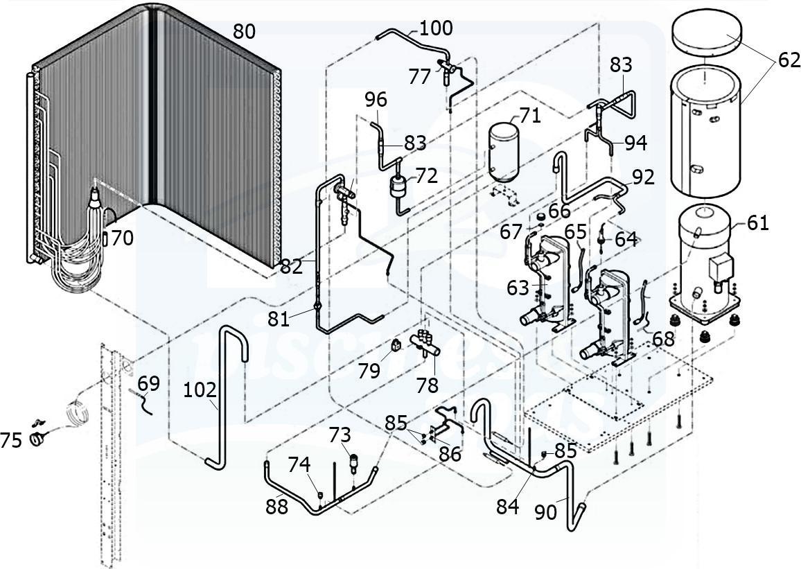 h2o piscines spas pices dtaches pompes chaleur zodiac optipac. Black Bedroom Furniture Sets. Home Design Ideas